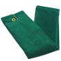 Tri_fold_Hunter_Green_Golf_towel