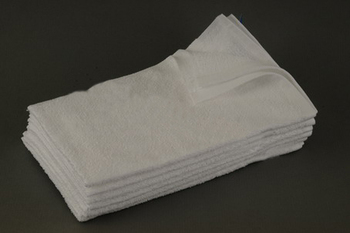 15x25 - White Hand towels 100% Cotton Premium Plus