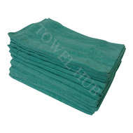 16x26 AQUA Velour Hand Towels 100% Cotton