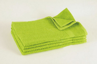15x25 - Lime Green Hand Towel Standard Premium 100% Cotton